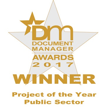 Document Manager Awards - Project of the Year