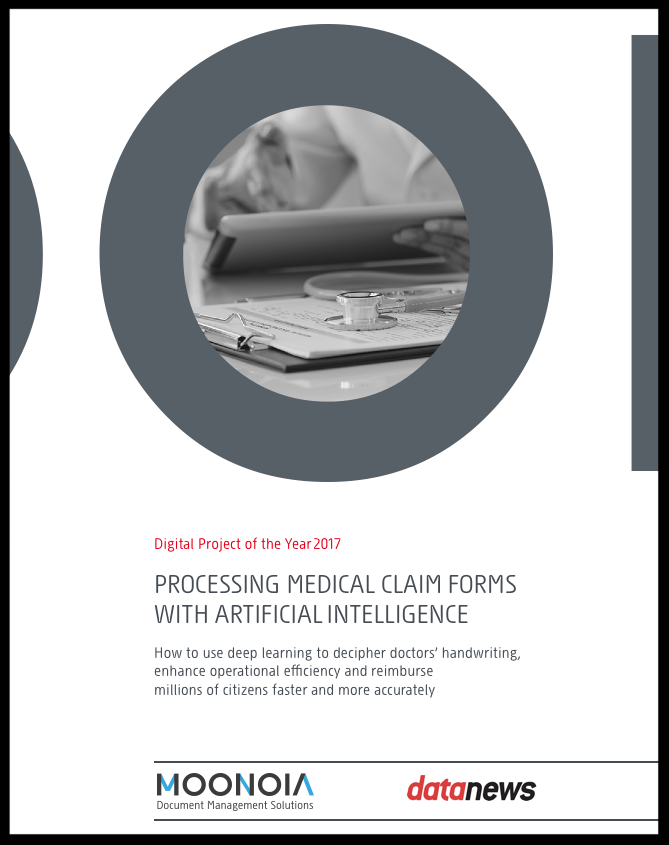 Digital project of the year 2017 finalist - Data News - Processing medical claim forms
