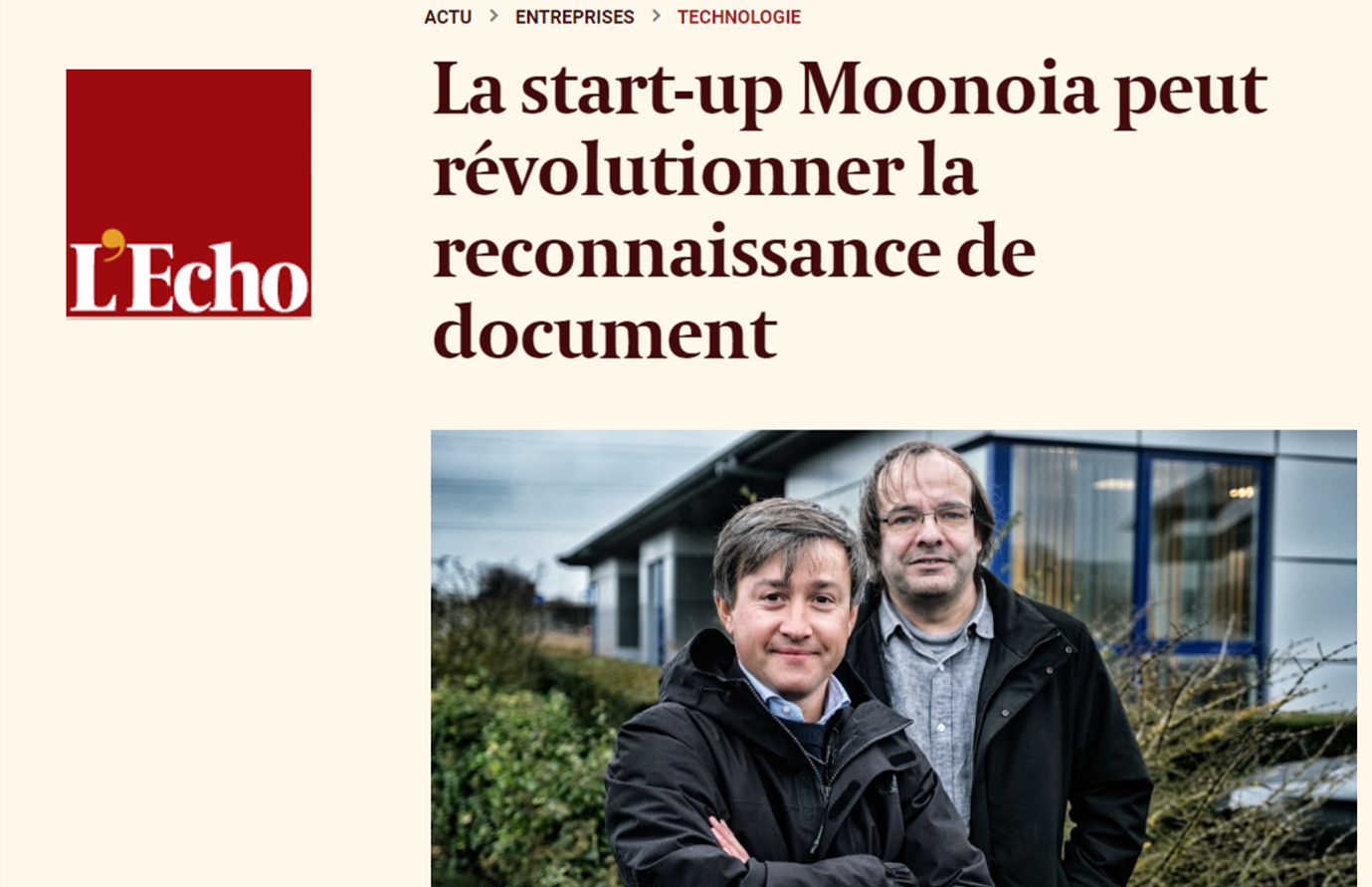 Press release: Moonoia becomes new entity, receives funding