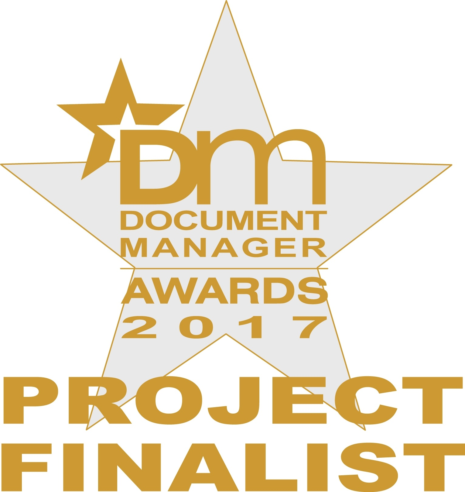 Moonoia Finalist for Document Manager Awards 2017